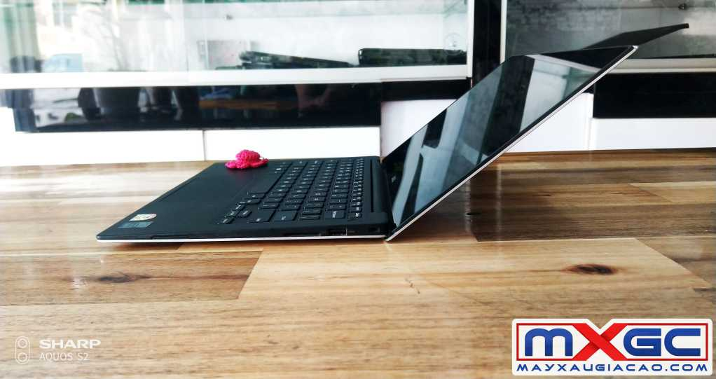 dell xps 9434 i7 3k touch cạnh phải