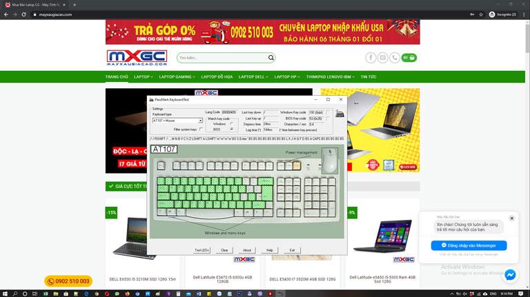 hướng-dẫn-mua-laptop-cũ-test-ban-phim-bang-phan-men