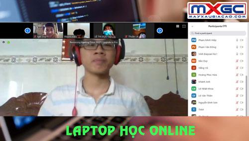 laptop học online dai hoc duy tan
